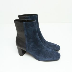 NWOB Donald Pliner Suede Ankle Boots Booties